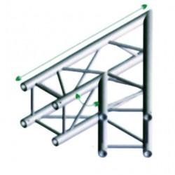 FQ30 bro firkant 30x30 cm - 45 grader hjørne