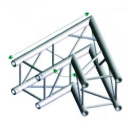 FQ30 bro firkant 30x30 cm - 60 grader hjørne