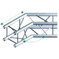 FQ30 bro firkant 30x30 cm - 135 grader hjørne