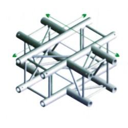 FQ30 bro firkant 30x30 cm - 4 vejs kryds