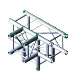 FQ30 bro firkant 30x30 cm - T kryds + ned