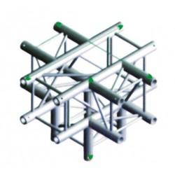 FQ30 bro firkant 30x30 cm - kryds + ned