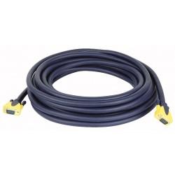 VGA han -> VGA han kabel 20 mtr.