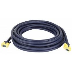 VGA han -> VGA han kabel 0,75 mtr.