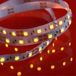 LED bånd 14,4W/mtr 60 RGB 3i1 12V IP20 5m rulle