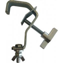 G-krog m. vingeskrue og bolt til 50mm rør