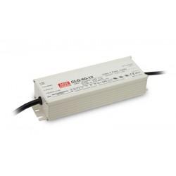 LED strømforsyning 12V DC 60W IP67 indstøbt