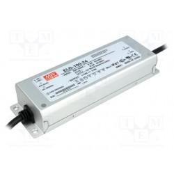 MW strømforsyning PSU 24V DC 100W IP67 indstøbt