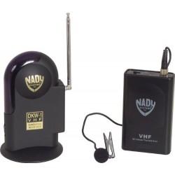 Trådløs VHF knaphulsmikrofon og modtager omnidirek