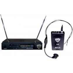 Trådløs VHF HM1 komplet headset mikrofon sæt
