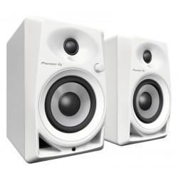 Pioneer DM-40W aktiv DJ monitor hvid sæt