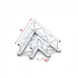 PQ30 bro firkant 30x30 cm - 60 grader hjørne