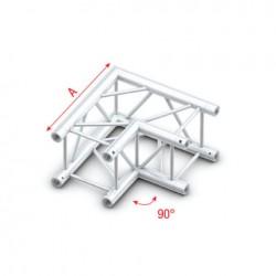 PQ30 bro firkant 30x30 cm - 90 grader hjørne