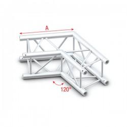 PQ30 bro firkant 30x30 cm - 120 grader hjørne