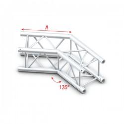 PQ30 bro firkant 30x30 cm - 135 grader hjørne