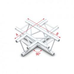 PT30 bro trekantet - 4-vejs kryds