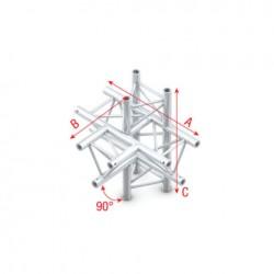 "PT30-021 bro trekantet - ""T"" kryds + op&ned ""ned"""
