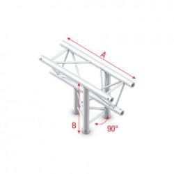 PT30-023 bro trekantet - T kryds op/ned