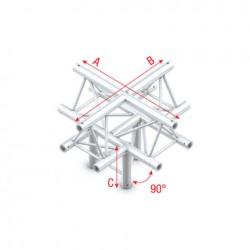 "PT30-025 bro trekantet - 5 vejs kryds ""op"""