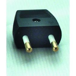 Dansk 230V hanstik til kabel - stødsikker