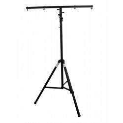 Lysstativ med T-bar 3,4m. max 18 kg sort