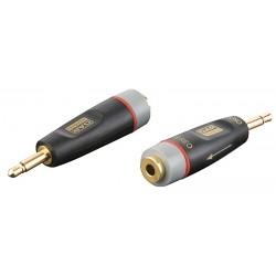 Xcaliber adaptor mini-jack mono-> mini-jack stereo