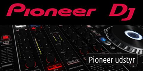 pioneer dj cdj djm xdj mixer cd hoejttaler hovedtelefon høretelefon